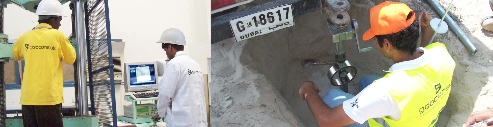 Geoconsult Soil Investigation & Material Testing